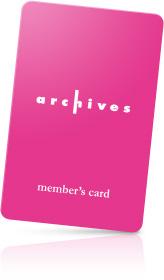 メンバーズカード:archives