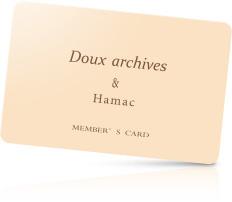 メンバーズカード:DOUX ARCHIVES
